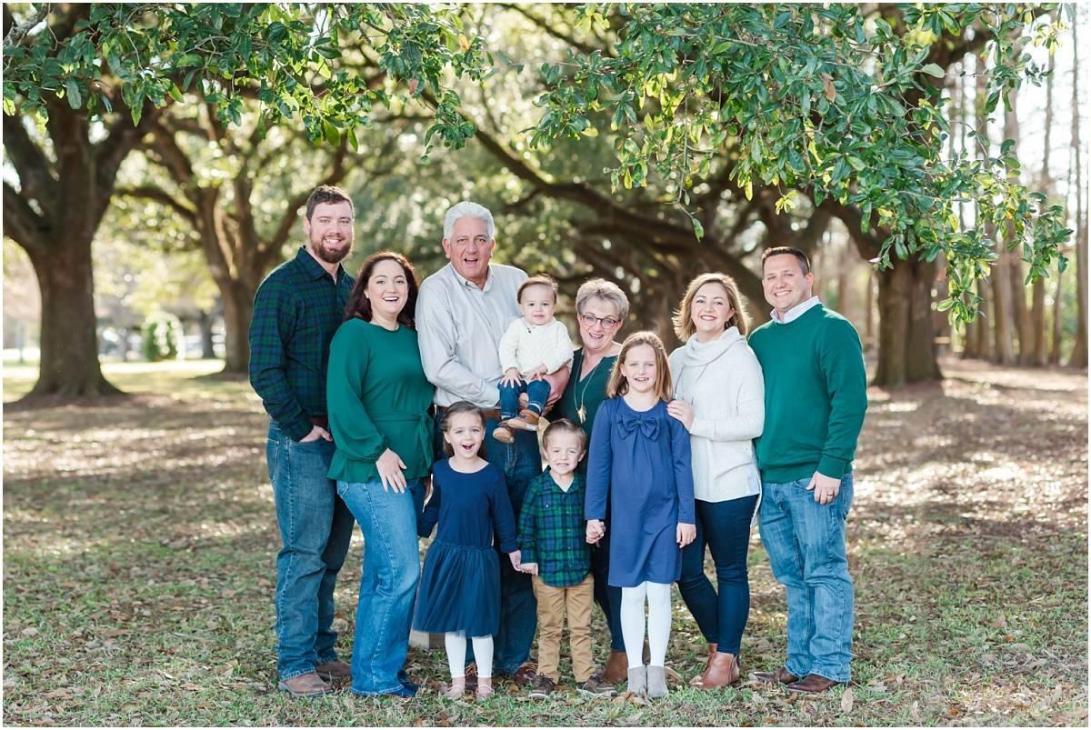 Extended Family Session at Jim Bowie Park – Henry Family